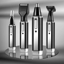 4 in 1 Rechargeable Nose Hair Trimmer Ear Beard Sideburn Eyebrow Trimmer for Men and Women
