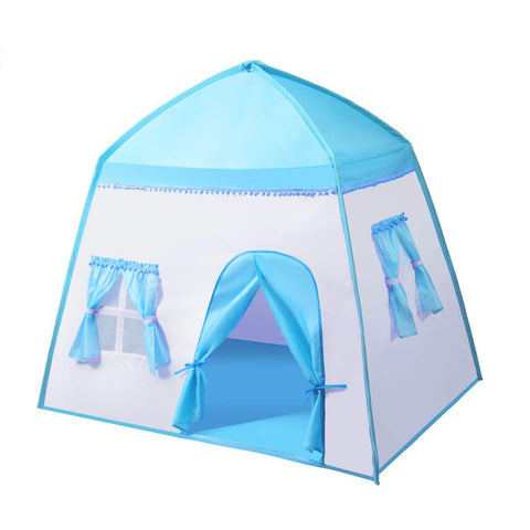 "Extra Large Kids Play Tent Princess Castle Children Playhouse, 55"" x 41"" x 49"""