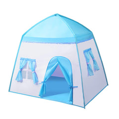 "iCorer Extra Large Kids Play Tent Princess Castle Teepee Children Playhouse Portable Fort Space World for Boys and Girls Indoor Outdoor Fun with Carry Bag, 55"" x 41"" x 49"""