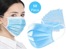 Disposable Respiratory Masks 3-Ply Breathable Elastic Earloop Face Masks (US Stock, FDA Registration)