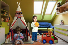 iCorer Teepee Tent Play Tents Portable Indoor Outdoor Kids Indian Playhouse for Kids