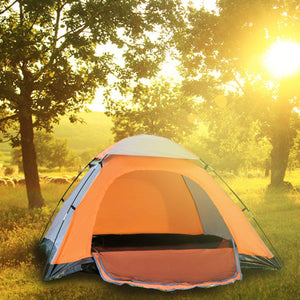 "iCorer Waterproof Lightweight 2-3 Person Family Backpacking Camping Tent, 78.7"" x 78.7"" x 51"""