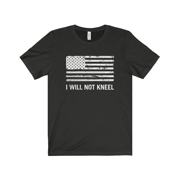 "Men's ""I Will Not Kneel"" T-Shirt"