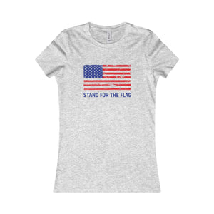 "Women's Special Edition ""Stand For The Flag"" T-Shirt"