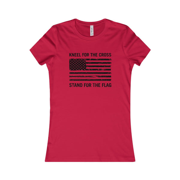 "Women's ""Kneel For The Cross"" T-Shirt"