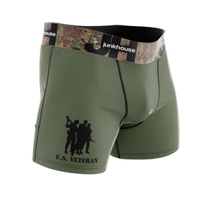 Mens Military Veteran Boxer Briefs