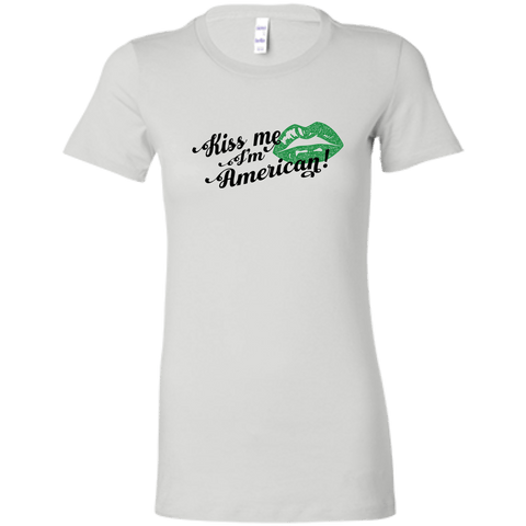 Women's St. Patrick's Day Kiss Me T-Shirt