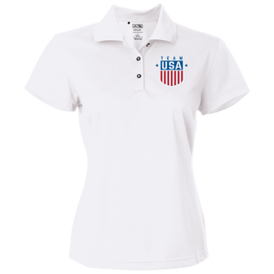 Women's Team USA Adidas Golf Polo