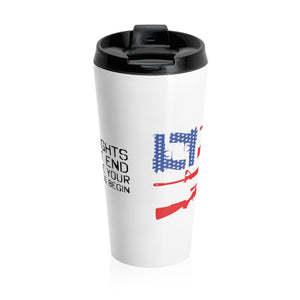 2nd Amendment Stainless Steel Travel Mug