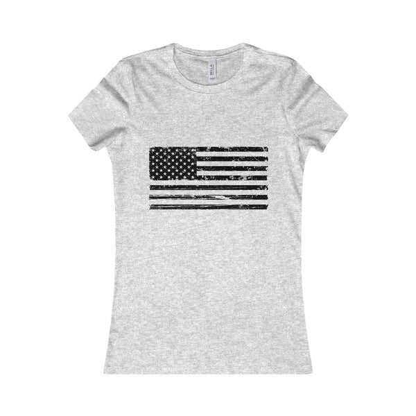 Women's American Flag T-Shirt