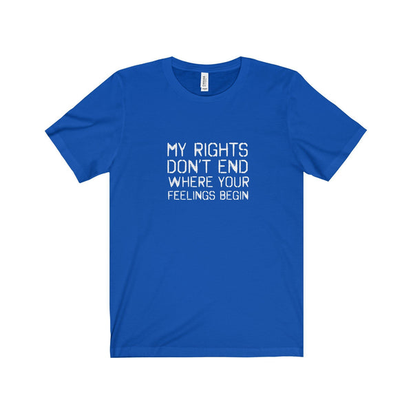 "Unisex ""My Rights"" T-Shirt"