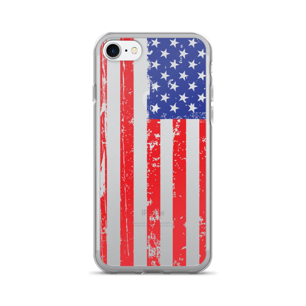 American Flag iPhone 7 & 7 Plus Case