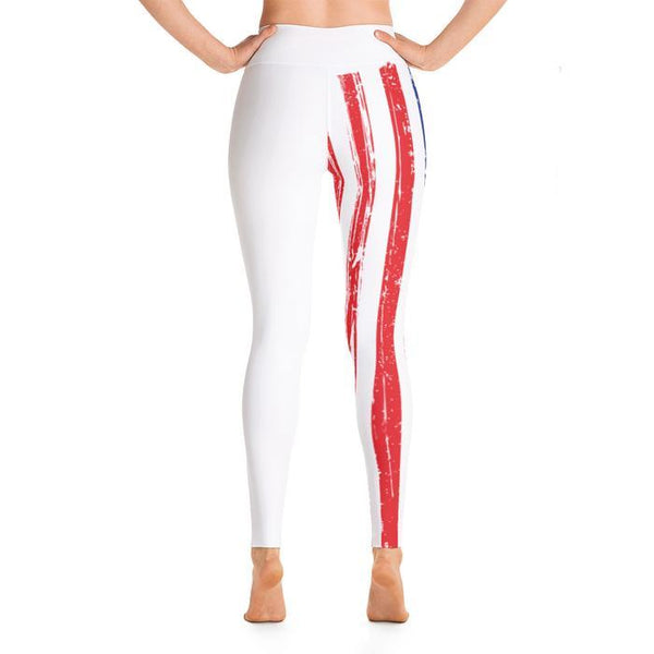 American Flag Yoga Leggings