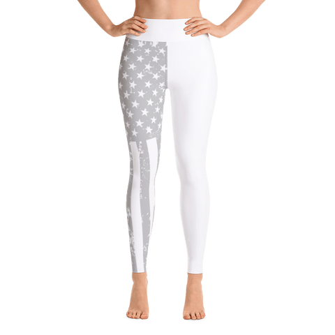 American Flag Yoga Pants