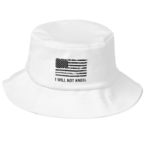 """I Will Not Kneel"" Bucket Hat"