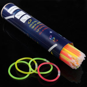 100Pcs Multi Color Glow Sticks