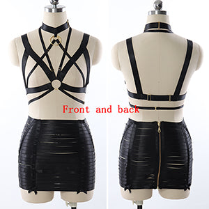 Pentagram Body Harness | Rave Outfit