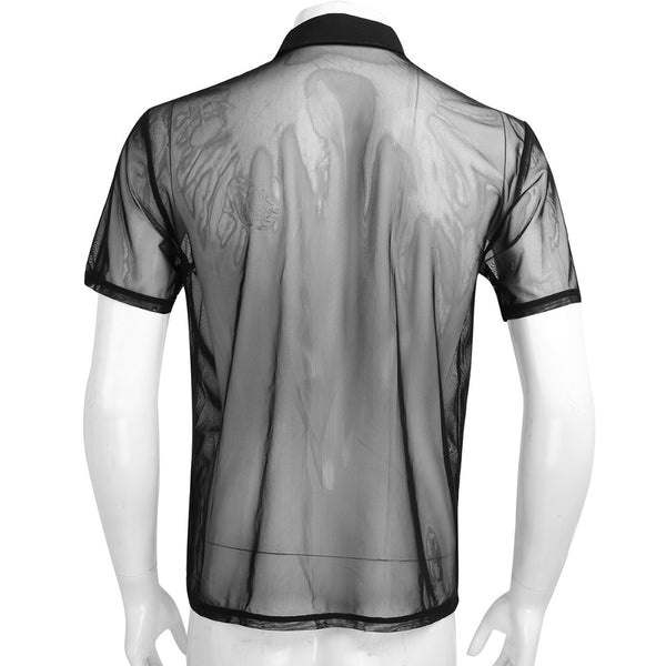 Men See Through Piké Shirt