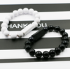 Onyx Beads Charger Bracelet