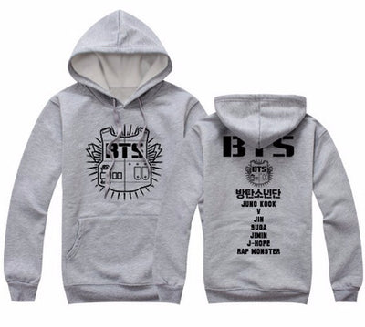 BTS Winter Hoodies