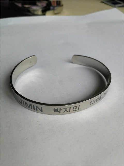 BTS Laser Smooth adjustable Bracelet