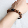 Rudraksha Tiger Eye Bracelet (protection)
