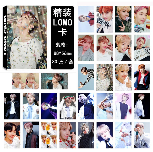 BTS WINGS Photocards
