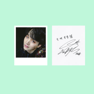 BTS WINGS YOU NEVER WALK ALONE SIGNATURE CARDS