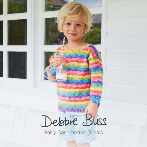 Debbis Bliss Baby Cashmerino Tonals Book - Knit One Purl One Yarns