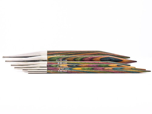 KnitPro Symfonie Wood Interchangeable Point Knitting Needles (Pair) - Knit One Purl One Yarns