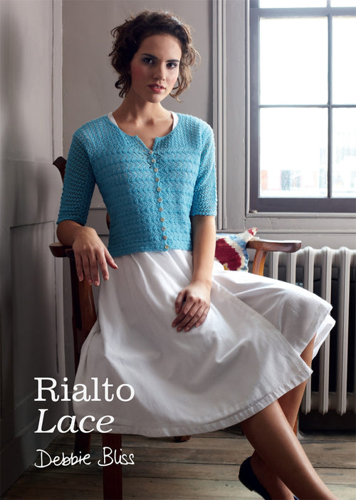Debbie Bliss Rialto Lace Book - Knit One Purl One Yarns