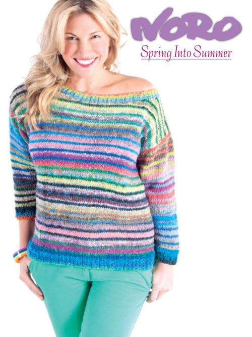 Noro Spring Into Summer Book - Knit One Purl One Yarns