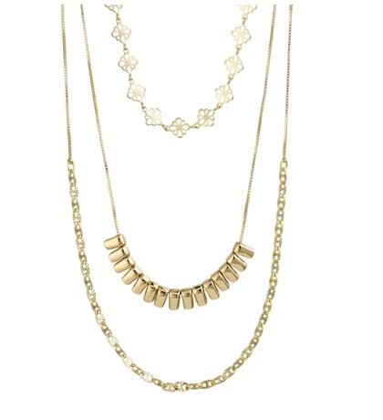 PILGRIM - GOLD JOY LAYERED NECKLACE