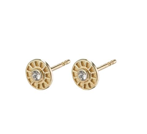 PILGRIM - GOLD PLATED FIA STUD EARRING