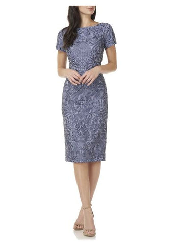 JS GROUP - SOUTACHE COCKTAIL DRESS