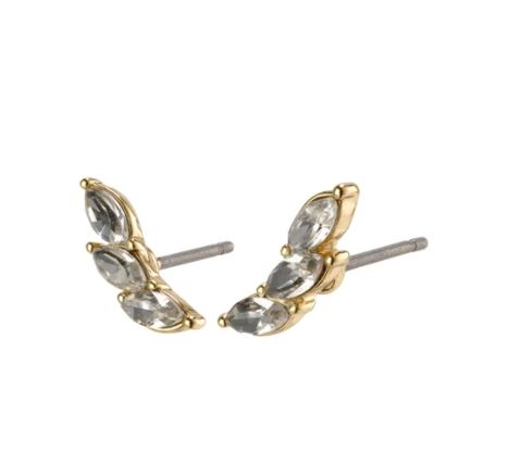 PILGRIM: GOLD MATHILDE EARRING