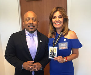 How I met Daymond John, President, CEO of FUBU and Investor on theShark Tank Show