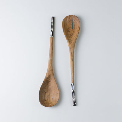 Rya Wooden Servers - Set of 2 - oboralux