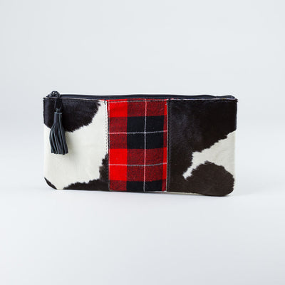 Maa Maasai Clutch Leather handle