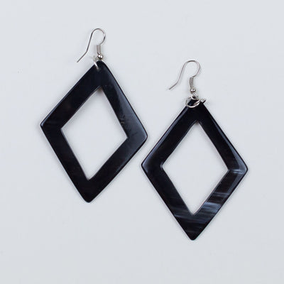 Feza Earring Black