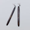 Omuka Long Earring Brown