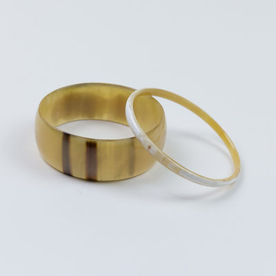 Amaka Bangle - Set of 2 Brown