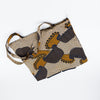 Kakira Kitenge Eco Tote - Brown