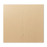 Traveler's Factory Kraft Paper Notebook Regular size Refill (New version)