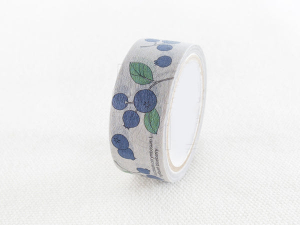 Botanical Garden Japanese Washi Tapes - Blueberry