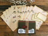 Picture book Style letter set / Tree Nuts
