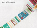 Little Path / Chamil Garden 2018 Xmas  Washi Masking Tapes