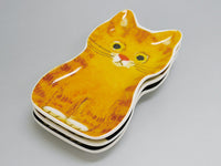 Petite Cat Ceramic Tray