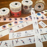 Masco Eri Japanese Washi Tape - Colorful