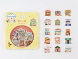 Japanese Washi Masking Stickers / Seal bits - Little Zakka Stores
